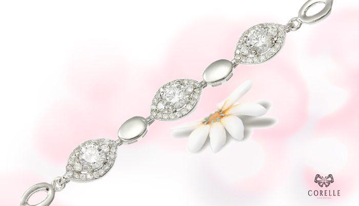 Bratara argint reglabila- Corelle- Blog