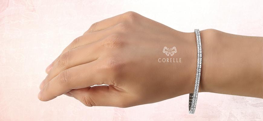 Bratara tenis argint- Corelle -Blog