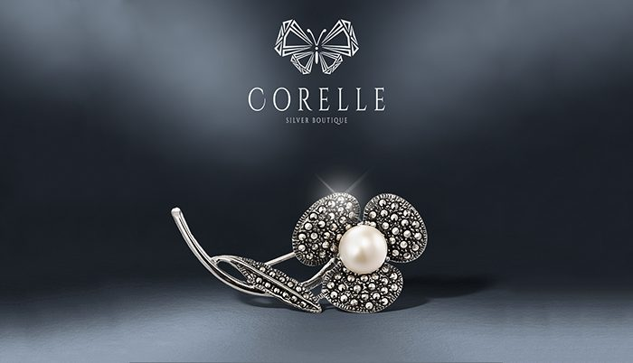 Brose argint- Corelle - Blog