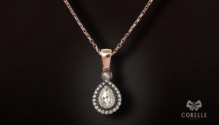Lantisoare argint femei cu pandantiv- Corelle- Blog