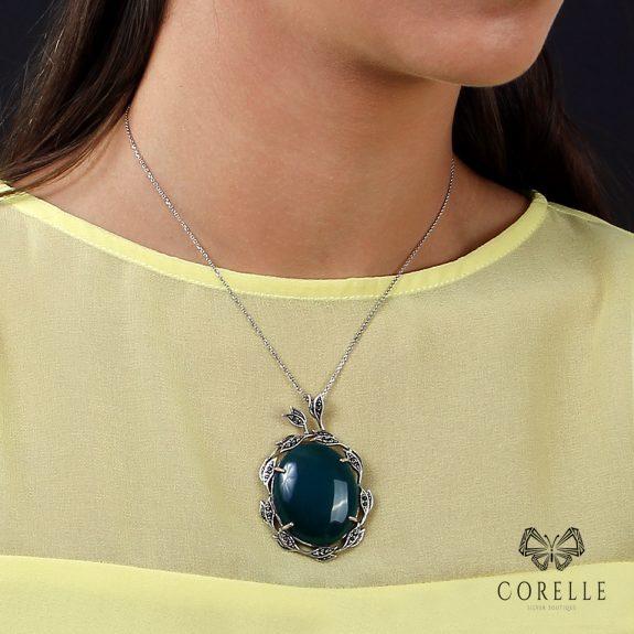 Pandantiv argint 925, Corelle, Cod TRSP026