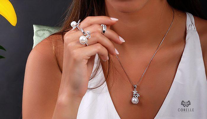 Pandantive argint cu perla -Corelle- Blog