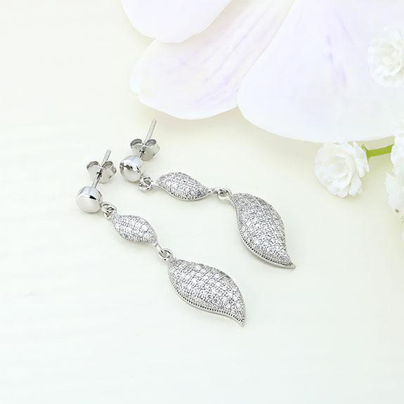 Cercei argint cu pietre - ICE0025