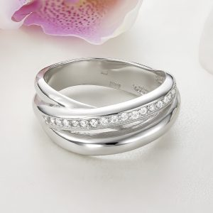 Inel argint Lat cu pietre - ICR0041