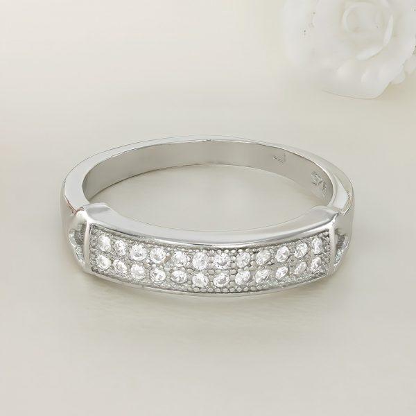 Inel argint cu pietre - ICR0075