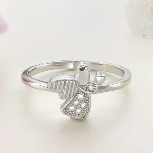 Inel argint cu pietre - Ingeras - ICR0079