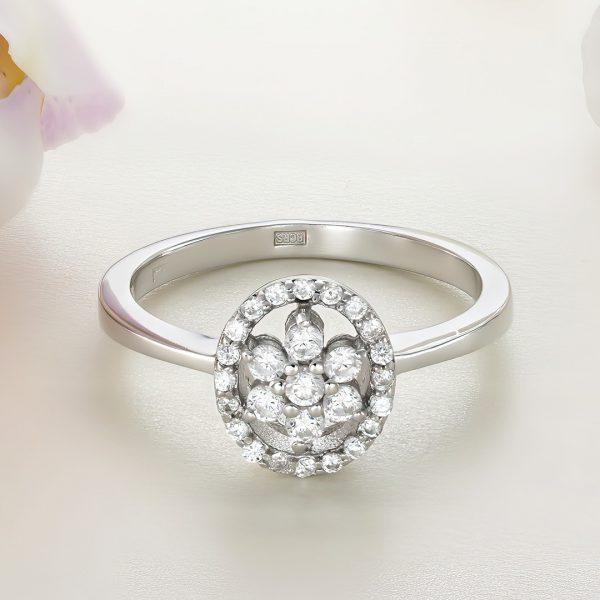 Inel argint cu pietre - ICR0089
