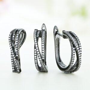 Set bijuterii argint cu pietre Neytiri  - ICS0040