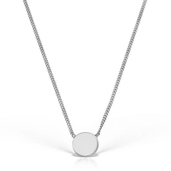 Colier argint fara pietre 44 cm Banut - MCN0001