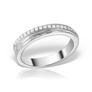 Inel argint cu pietre Eternity - MCR0022