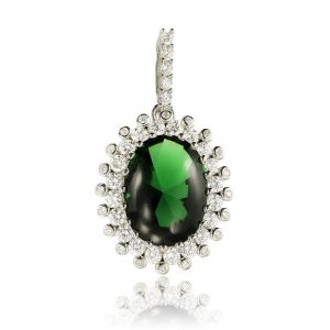 Pandantiv argint Emerald Fantasy