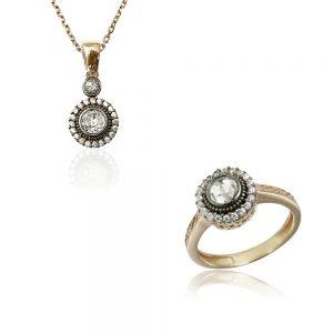 Set bijuterii argint cod trss056